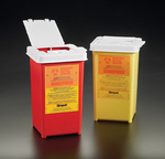 Portable Sharps Disposal Containers
